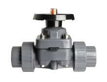 manual-valves-thermoplastic - diaphragm-valve-pvc